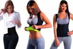 Gele Saunafit Thermische Afslanktop – Maat M – Kan onder jouw kleding