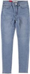 Blauwe Skinny Jeans Levis 721 HIGH RISE SUPER SKINNY
