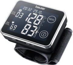 Zwarte Beurer BC58 - Bloeddrukmeter pols - USB data-overdracht - XL touch display