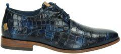Rehab Heren Nette schoenen Greg Croco - Blauw - Maat 41