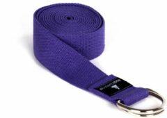 Paarse Yoga riem yogibelt - 260M violet Yoga riem YOGISTAR