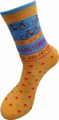 Oranje Robin Ruth Sokken Amsterdam fietsen roze 36-41