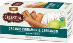 Celestial Seasonings Celestial Season Organic Cinnamon & Cardamom (20st)