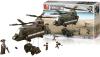 Sluban Bouwstenen Army Serie Transporthelikopter Bouwstenen Army Serie Transporthelikopter