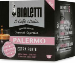 Bialetti Palermo Koffiecups - 8 x 16 stuks