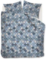 At Home with Marieke At Home View dekbedovertrek - 100% katoen - Lits-jumeaux (260x200/220 cm + 2 slopen) - Blue