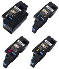 Cyane Goedkoopprinten Dell 593-11140 / 593-11143 toner cartridge Multipack 4 st. (Dell 1250) - Huismerk set