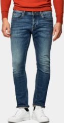 McGregor Slim fit jeans in donker blauwe vintage wassing voor Heren - Denim Dark Blue Vintage Wash - 34-34