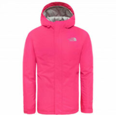 Roze The North Face Snow Quest Jacket Kids Wintersportjas - Mr. Pink - Maat 140
