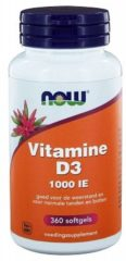 Now Foods Now Vitamine D3 1000ie Trio (3x 360sft)