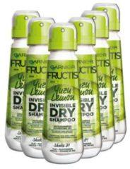 Garnier Fructis Hair Lemonade Lemon - Droge Shampoo 6 x 100ml - Compressed