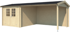 Outdoor Life Products | Buitenverblijf Ivana 275 Plus | Blank | 595x295
