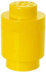 LEGO Storage Brick Opbergbox - 12,5 cm x 12,5 cm x 18 cm - Geel
