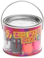 W7 Nagellak - Paintshop Mini's 8 stuks