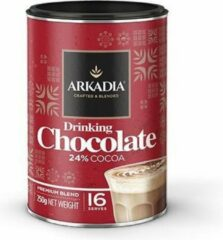 Arkadia Drinking Hot Chocolate 24% Cacao Original 250gr. Powder Cafe Beverage