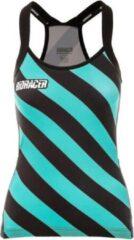 Groene Bioracer Vesper Tan Top Beach Zebra Size XS