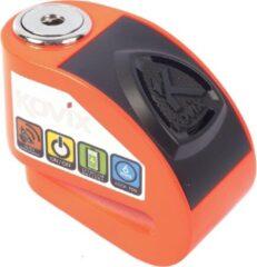 Oranje Kovix KD6 Motor Scooter E-Bike Remschijf Slot met 120db Alarm Fluo Orange