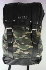 Guess Rugtas - Washed Camouflage - Zwart - LxBxD 44x36x17cm