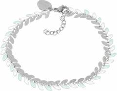IXXXi Armband Malediven Groen - Zilver