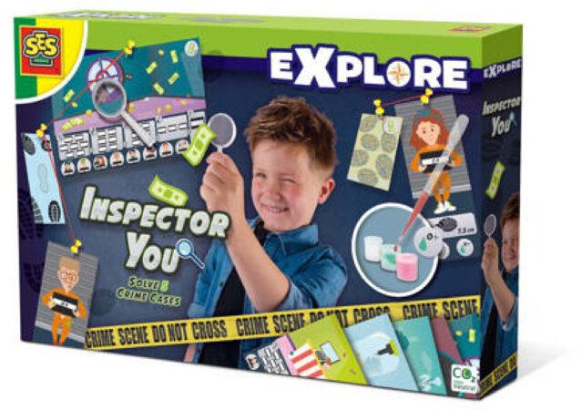 Afbeelding van Ses Gezelschapsspel Inspector You - Los Vijf Misdaadzaken Op