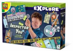 Ses Gezelschapsspel Inspector You - Los Vijf Misdaadzaken Op