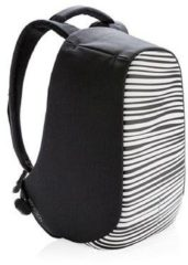 Witte X Works XD Design Bobby Compact anti-diefstal rugzak - Anti-theft backpack - Laptoptas - Zebra