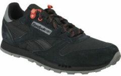 Reebok Classic Leather CN4705, Kinderen, Zwart, Sneakers maat: 36,5 EU