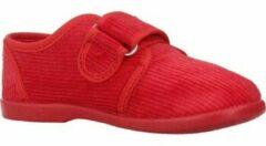 Rode Pantoffels Vulladi 1807 019