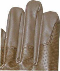 Donkerbruine HKM Rijhandschoenen XL -Se- (Zacht Elastisch)