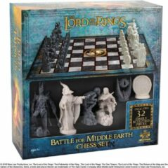 Bordspellen The Noble Collection Lord of the Rings: Battle for Middle Earth Chess Set