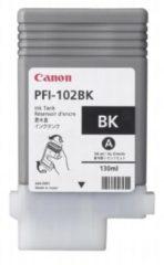 Canon inktcartridge PFI-102BK, 130 ml, OEM 0895B001, zwart