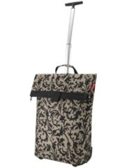 Bruine Reisenthel trolley M - maat M - Trolley - Boodschappenwagentje - boodschappentrolley - Polyester - baroque taupe