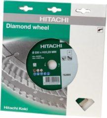 Hitachi Accessoires Diamant zaagblad 230 x 22,2 x 7mm type universeel gesinterd