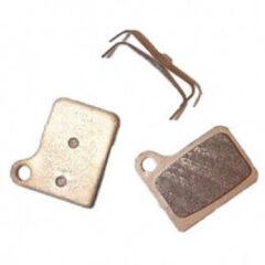 Shimano - Bremsbelag Scheibe M01 Deore Resin - Schijfremblokjes grijs