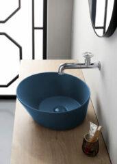 By Goof Mees ronde design waskom 42cm mat blauw