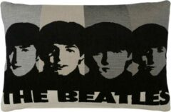 "FS Home Collections ""The Beatles"" Kussenhoes 56x75 cm Zwart"