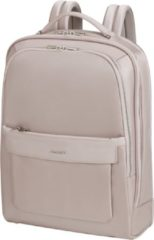 Grijze Samsonite Laptoprugzak - Zalia 2.0 Backpack 15.6 inch Stone Grey