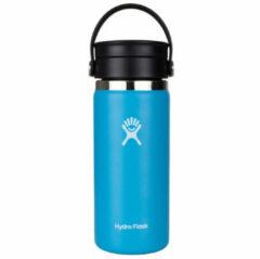 Hydro Flask - Wide Mouth Flex Sip Lid maat 473 ml, blauw/zwart/turkoois