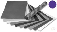 Folia transparant vliegerpapier pak van 25 vellen, lila
