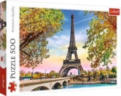 Massamarkt Puzzel Romantisch Parijs 500 stukjes