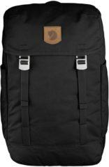 Groene Fjällräven Fjallraven Greenland Top Backpack rugzak met klep Black