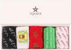 Tqaser Gekleurde sokken Multipack Unisex Sokken 41-45