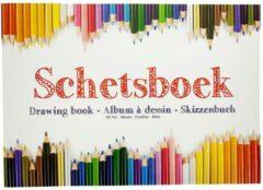 Basic A4 Schetsboek met 80 Bladen