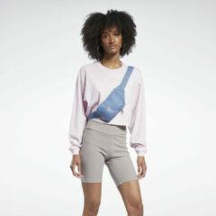 Donkerrode Reebok Classics Long Sleeve T-shirt