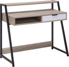 Beliani CALVIN - Bureau - Lichte houtkleur - MDF