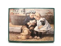 Merkloos / Sans marque Ot en sien puzzel - Suiker halen 1000pc