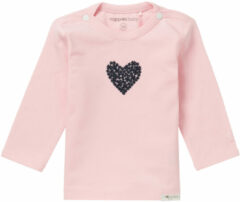 Roze Noppies Longsleeve Natick babykleding - Maat 62