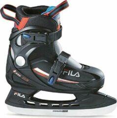 Rode Fila - J-One Ice Boy HR - Schaatsen voor kinderen - Maat 26-30 - Blauw - Verstelbare ijshockeyschaatsen