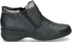 Zwarte Boots en enkellaarsjes Maria L4363 by Rieker