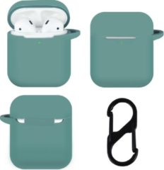 TERRATEC AirBox Siliconen beschermhoesje voor AirPods Groen / Midnight Green